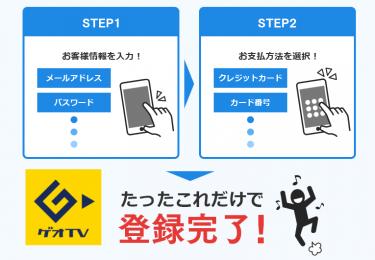 「ゲオTV」の会員登録~無料キャンペーンの登録を画像で解説【クーポン付き】